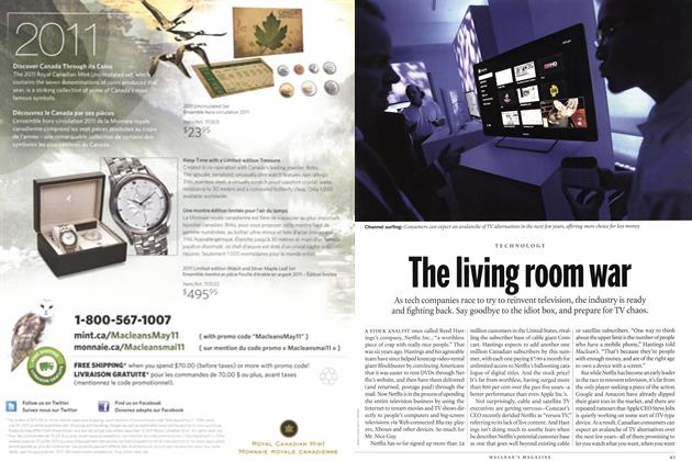 Article Preview: The living room war, June 2011 | Maclean's
