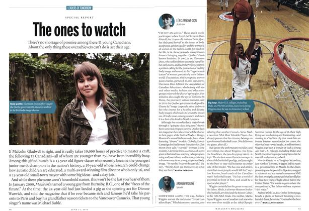 Article Preview: The ones to watch, June 2011 | Maclean's