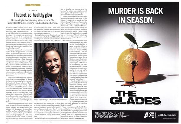 Article Preview: That not-so-healthy glow, June 2011 | Maclean's