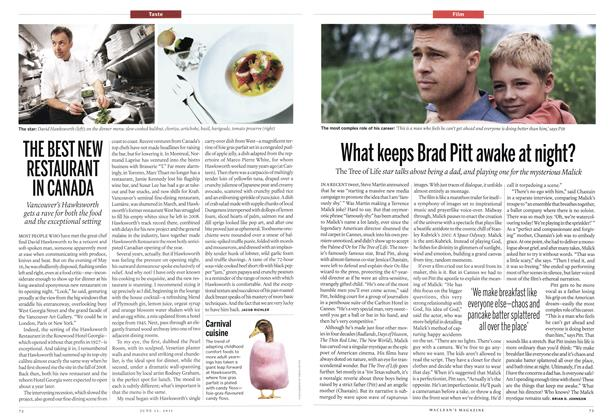 Article Preview: What keeps Brad Pitt awake at night?, June 2011 | Maclean's