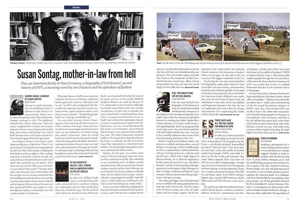 Article Preview: SEMPRE SUSAN: A MEMOIR OF SUSAN SONTAG, June 2011 | Maclean's