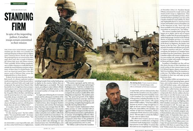 Article Preview: STANDING FIRM, June 2011 | Maclean's