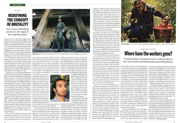 Article Preview: REDEFINING THE CONCEPT OF BRUTALITY, June 2011 | Maclean's