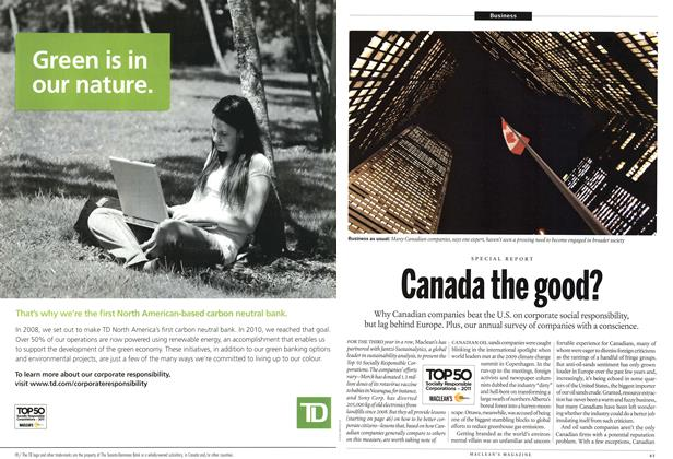 Article Preview: Canada the good?, June 2011 | Maclean's