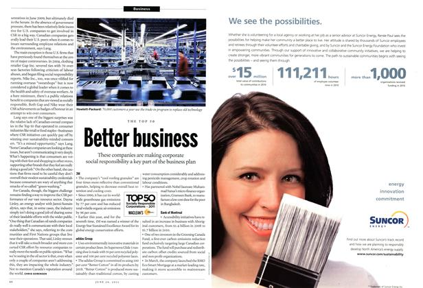Article Preview: Better business, June 2011 | Maclean's