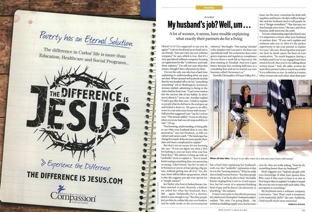 Article Preview: My husband's job? Well, um..., June 2011 | Maclean's
