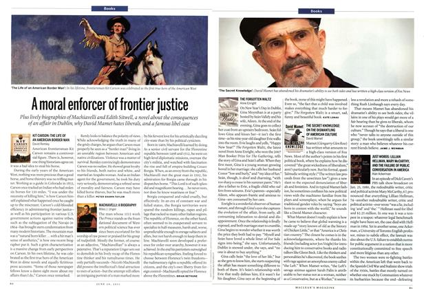 Article Preview: A moral enforcer of frontier justice, June 2011 | Maclean's