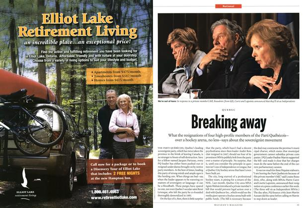 Article Preview: Breaking away, June 2011 | Maclean's