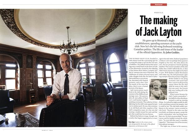Article Preview: The making of Jack Layton, June 2011 | Maclean's