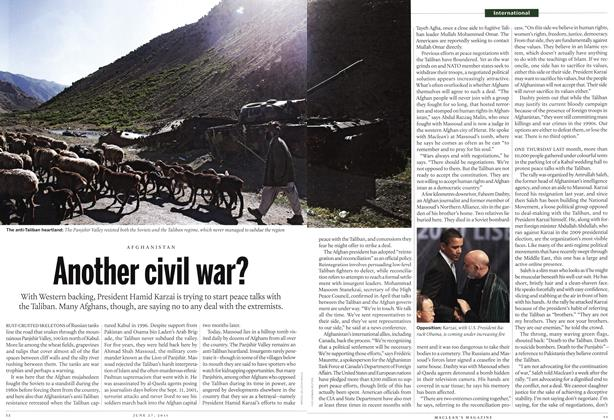 Article Preview: Another civil war?, June 2011 | Maclean's