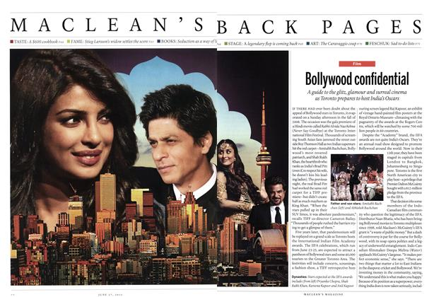 Article Preview: Bollywood confidential, June 2011 | Maclean's