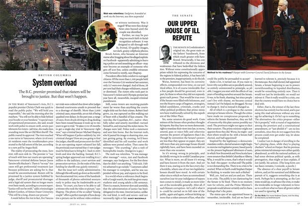 Article Preview: System overload, July 2011 | Maclean's
