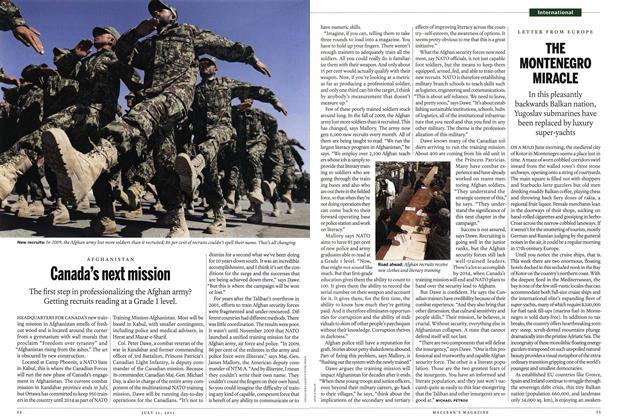 Article Preview: Canada's next mission, July 2011 | Maclean's