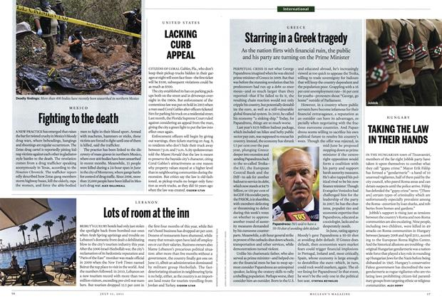 Article Preview: Fighting to the death, July 2011 | Maclean's
