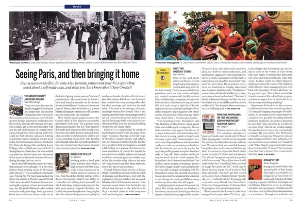 Article Preview: Seeing Paris, and then bringing it home, July 2011 | Maclean's
