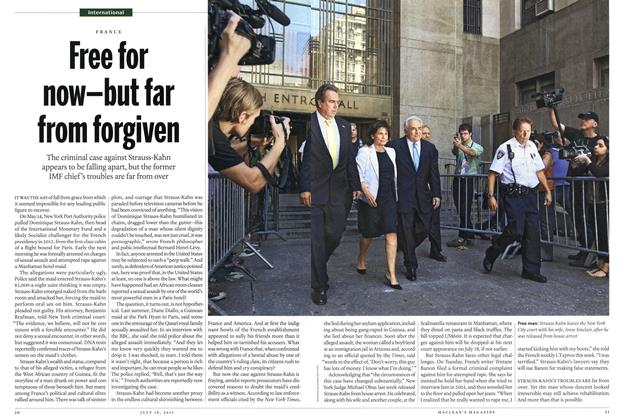 Article Preview: Free for now—but far from forgiven, July 2011 | Maclean's
