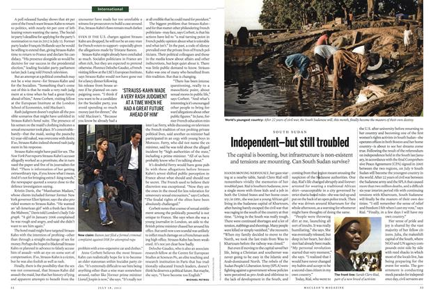 Article Preview: Independent—but still troubled, July 2011 | Maclean's