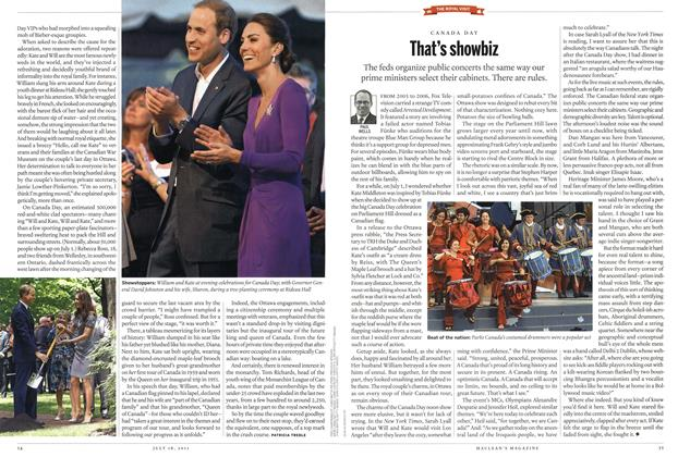 Article Preview: That's showbiz, July 2011 | Maclean's