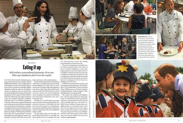 Article Preview: Eating it up, July 2011 | Maclean's