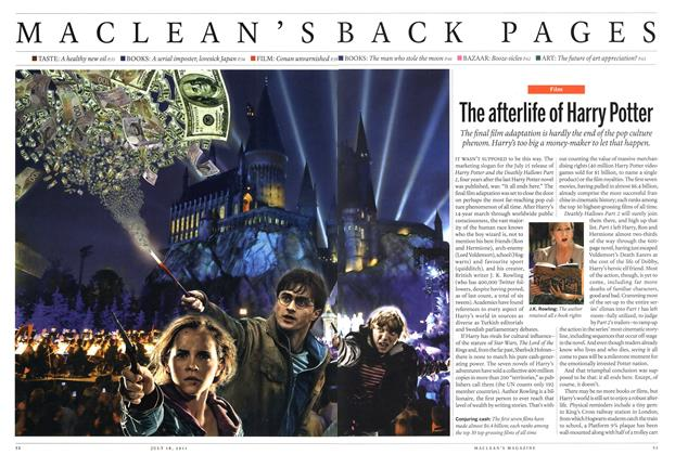 Article Preview: The afterlife of Harry Potter, July 2011 | Maclean's