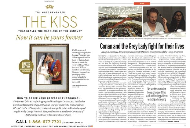 Article Preview: Conan and the Grey Lady fight for their lives, July 2011 | Maclean's