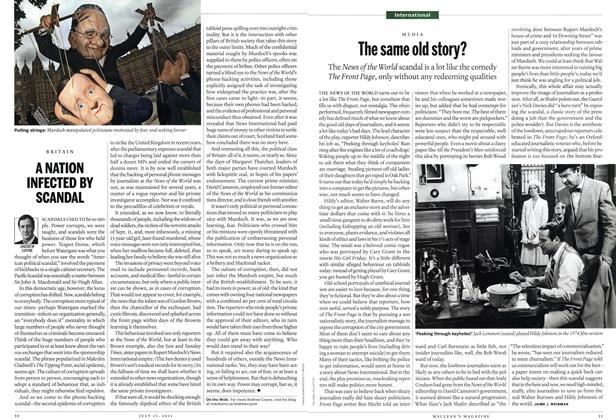 Article Preview: The same old story?, July 25th 2011 | Maclean's