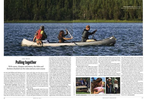 Article Preview: Pulling together, July 25th 2011 | Maclean's