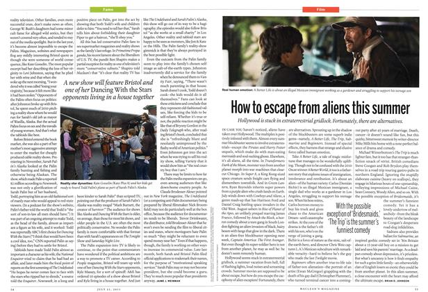Article Preview: How to escape from aliens this summer, July 2011 | Maclean's