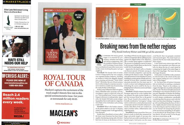 Article Preview: Breaking news from the nether regions, July 25th 2011 | Maclean's
