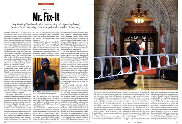Article Preview: Mr. Fix-It, July 25th 2011 | Maclean's