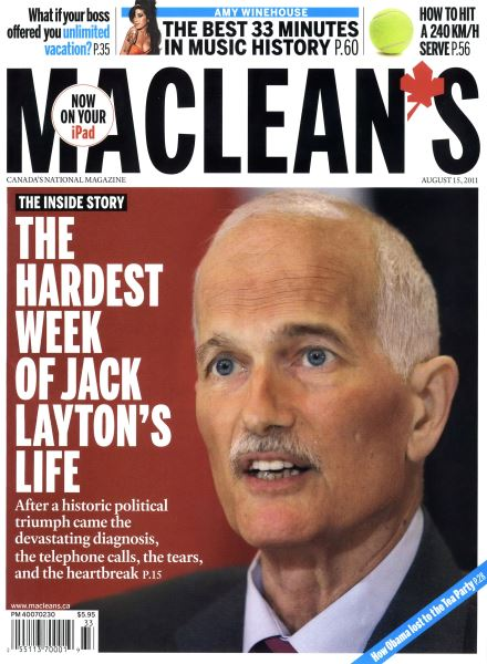 Issue: - August 2011 | Maclean's