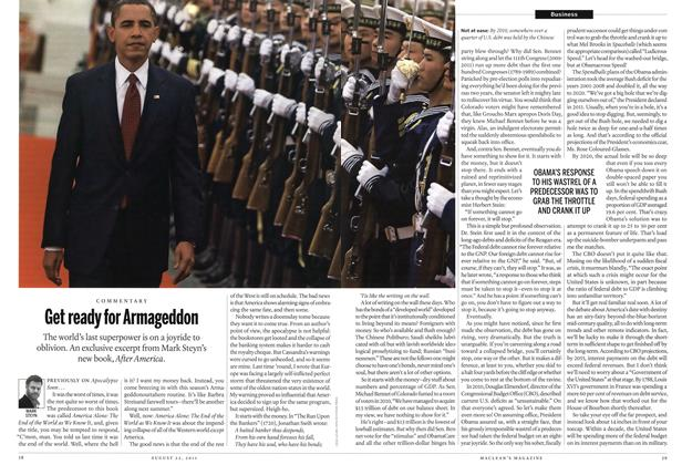 Article Preview: Get ready for Armageddon, August 22nd 2011 | Maclean's