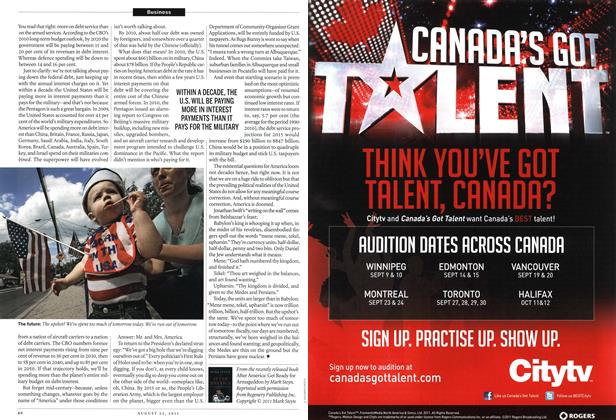 Article Preview: ROGERS, August 22nd 2011 | Maclean's