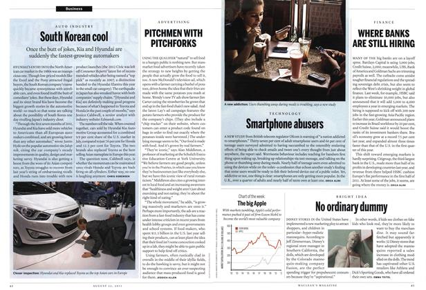 Article Preview: No ordinary dummy, August 22nd 2011 | Maclean's