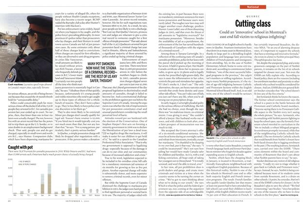 Article Preview: Cutting class, August 29th 2011 | Maclean's