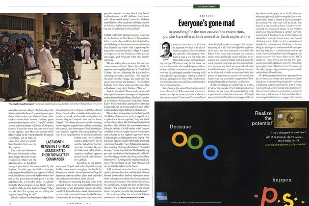 Article Preview: Everyone's gone mad, August 29th 2011 | Maclean's