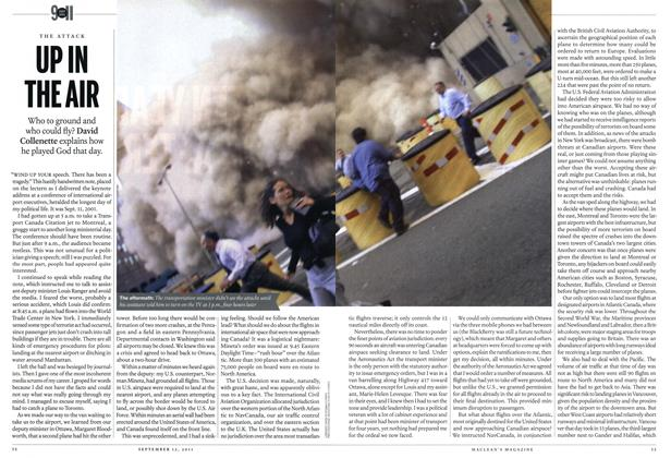 Article Preview: THE ATTACK URIN THE AIR, September 2011 | Maclean's