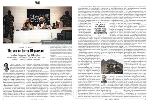 Article Preview: COYNE VS. WELLS The war on terror 10 years on, September 2011 | Maclean's