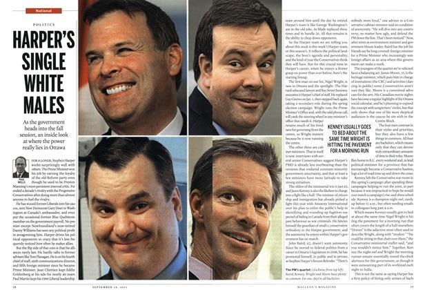 Article Preview: HARPER'S SINGLE WHITE MALES, September 19th 2011 | Maclean's