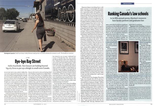 Article Preview: Bye-bye Bay Street, September 19th 2011 | Maclean's