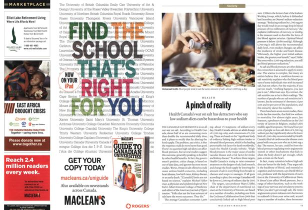 Article Preview: MARKETPLACE, September 19th 2011 | Maclean's