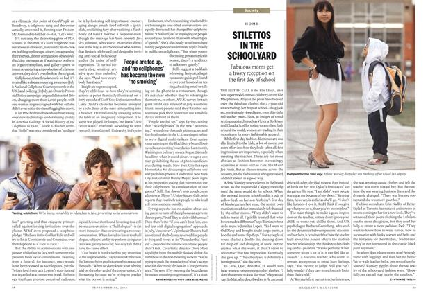 Article Preview: STILETTOS IN THE SCHOOLYARD, September 19th 2011 | Maclean's