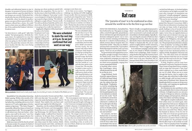 Article Preview: Rat race, September 19th 2011 | Maclean's