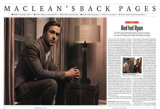 Article Preview: Red hot Ryan, September 19th 2011 | Maclean's