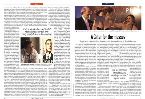 Article Preview: A Giller for the masses, September 2011 | Maclean's
