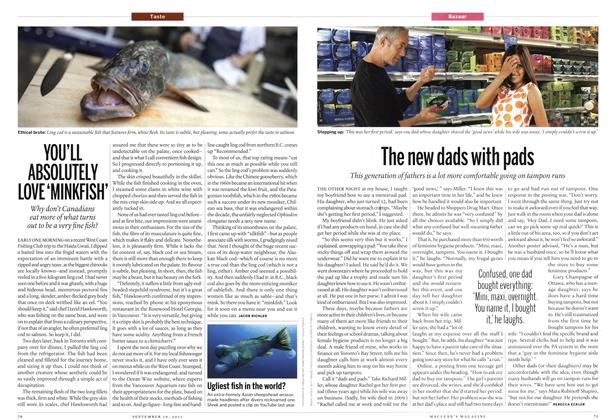 Article Preview: YOU'LL ABSOLUTELY LOVE 'MINKFISH', September 2011 | Maclean's