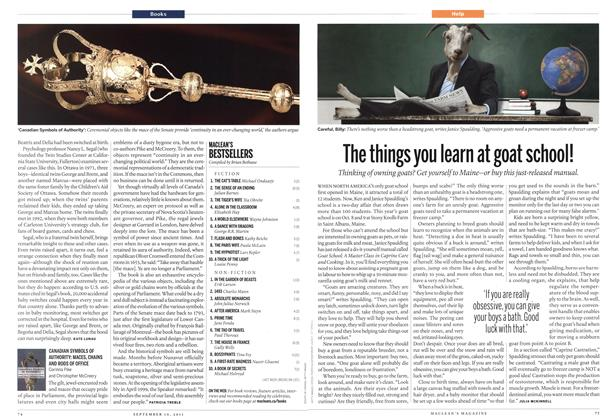 Article Preview: CANADIAN SYMBOLS OF AUTHORITY: MACES, CHAINS AND RODS OF OFFICE, September 19th 2011 | Maclean's