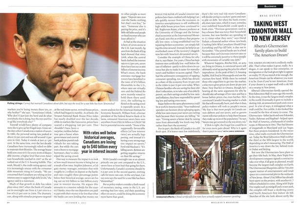 Article Preview: Business, October 3rd 2011 | Maclean's