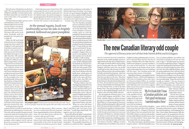 Article Preview: The new Canadian literary odd couple, October 24th 2011 | Maclean's