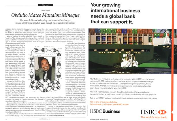 Article Preview: HSBC, October 24th 2011 | Maclean's